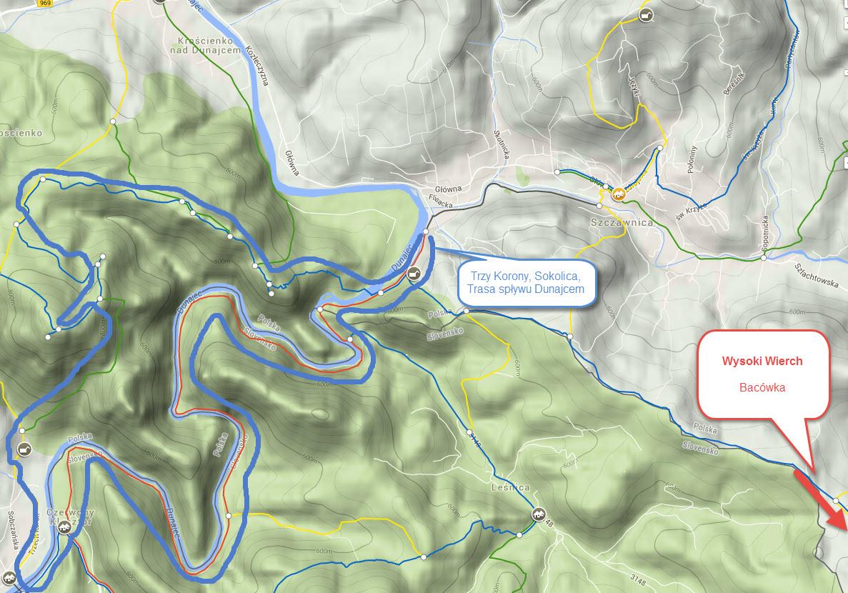 Przykładowe trasy