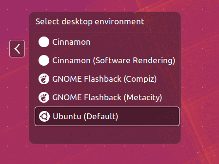 Cinnamon Desktop in Ubuntu