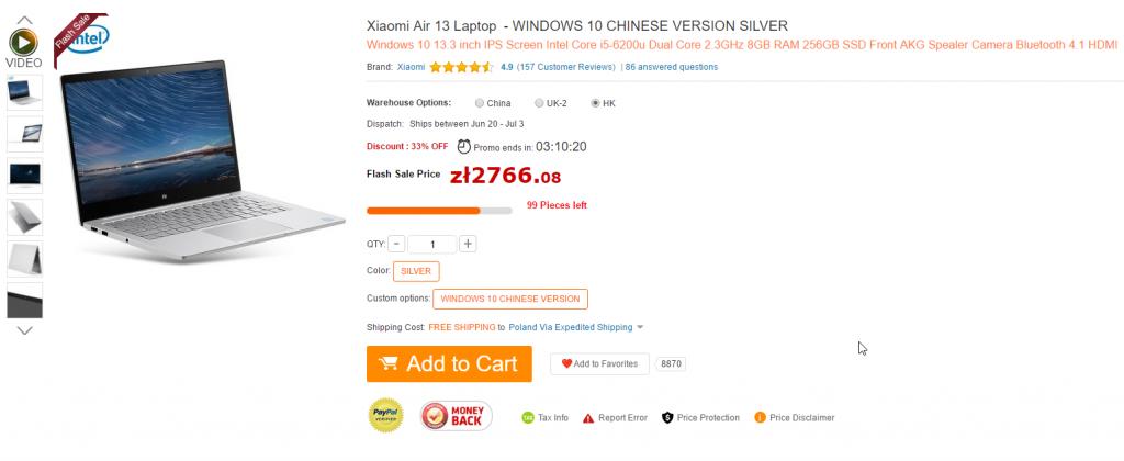 GearBest Mi Air Xiaomi