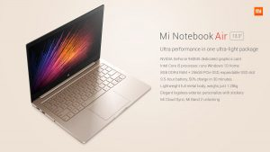 Xiaomi Notebook Mi Air 13 cali