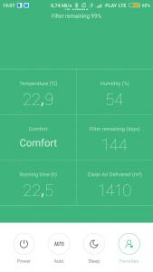 Aplikacja Xiaomi Air Purifier