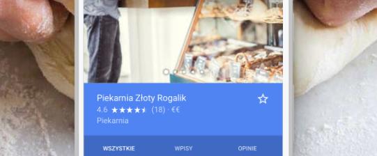 Wizytówka Google Moja Firma - Opinie