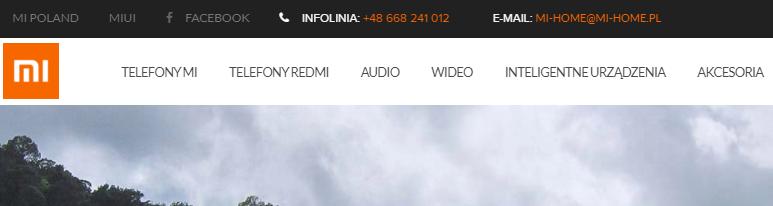 Sklep Xiaomi w Polsce