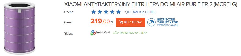 Xiaomi Filtr