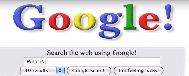 Urodziny Google - 20 lat