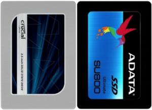 dyski SSD Crucial, ADATA