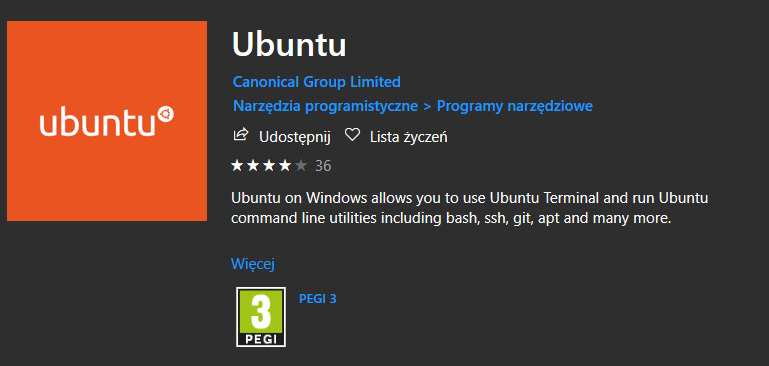 Ubuntu na Windows 10
