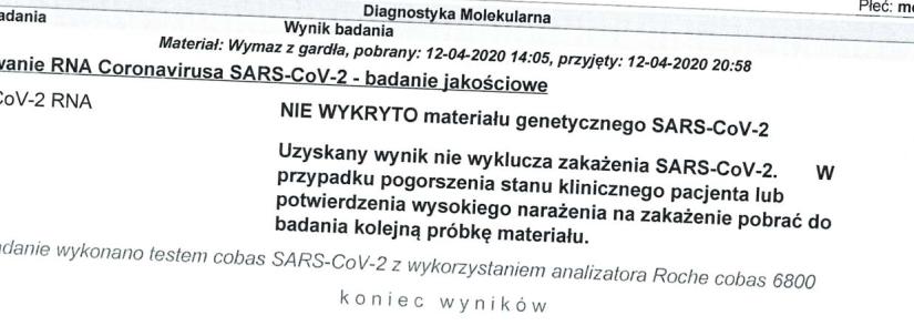 13 marca 2020, SARS-CoV-2, Nowa rzeczywistość